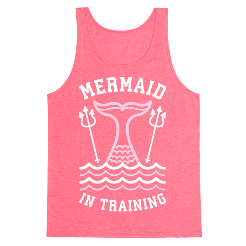 Mermaid In Training Tank Top