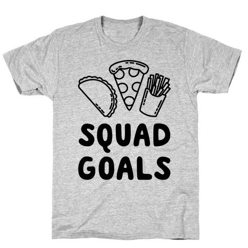 Junk Food Squad Goals T-Shirt