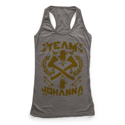 Team Johanna Racerback Tank Top