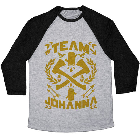 Team Johanna Baseball Tee