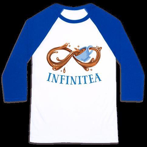Infinite Tea Baseball Tee