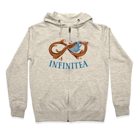 Infinite Tea Zip Hoodie