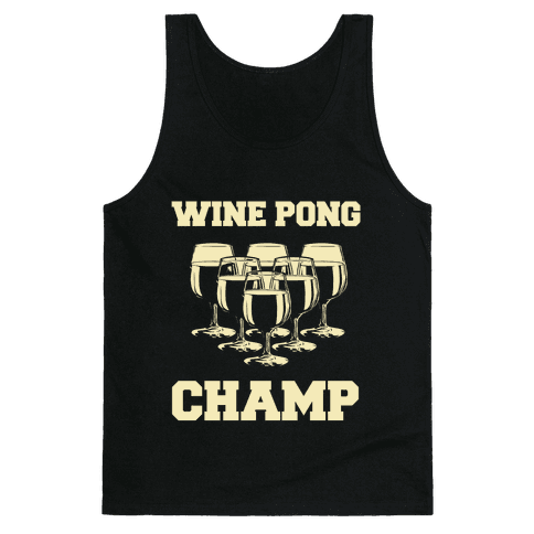 Wine Pong Champ Tank Top
