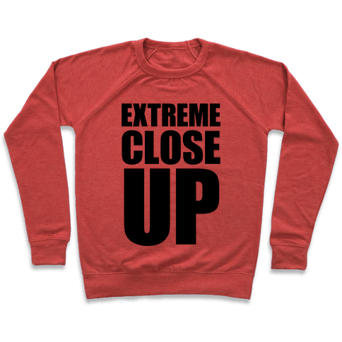 Extreme Close Up Pullover