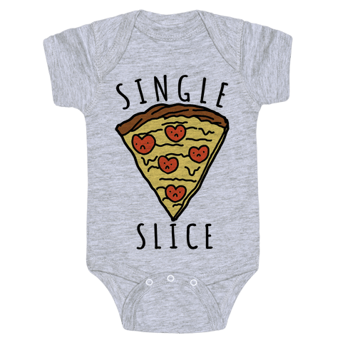 Single Slice Baby Onesy