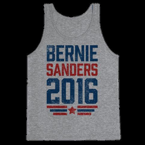 Bernie Sanders 2016 Tank Top