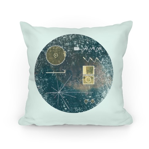 Sounds Of Earth Pillow