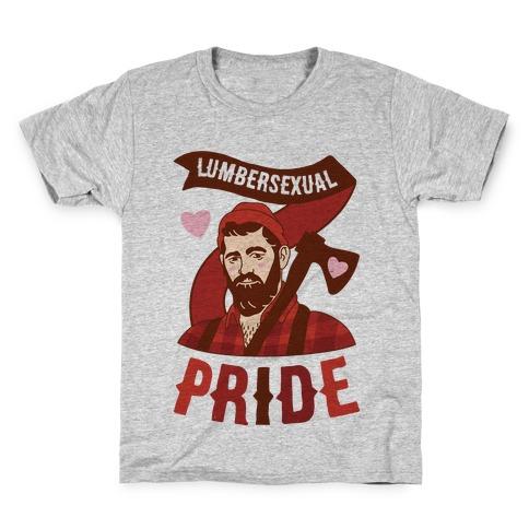 Lumbersexual Pride Kids T-Shirt