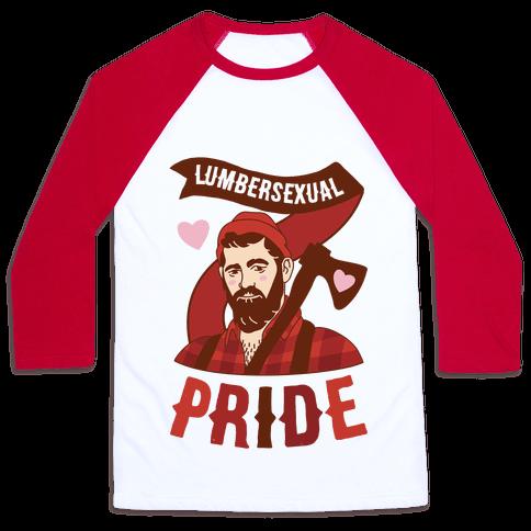 Lumbersexual Pride Baseball Tee