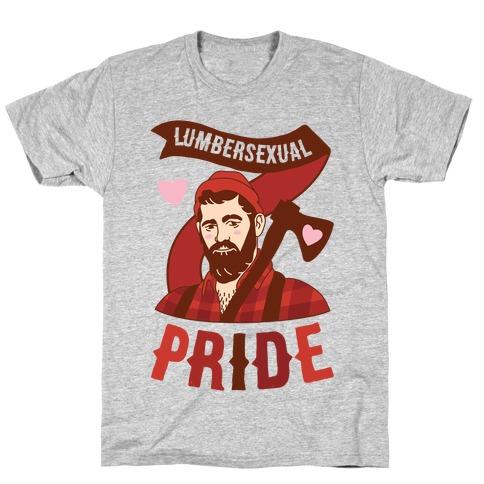 Lumbersexual Pride T-Shirt