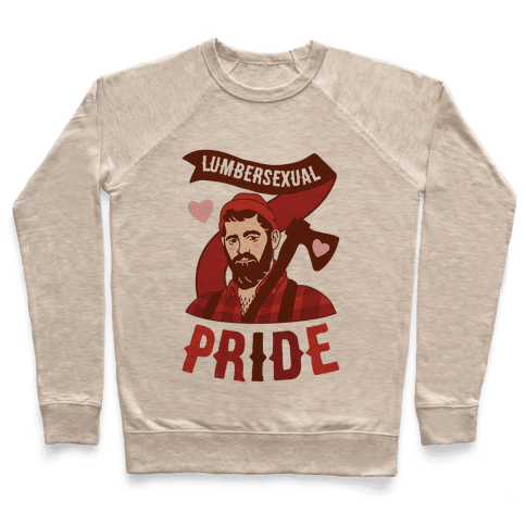 Lumbersexual Pride Pullover