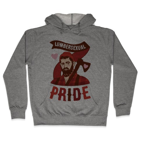 Lumbersexual Pride Hooded Sweatshirt