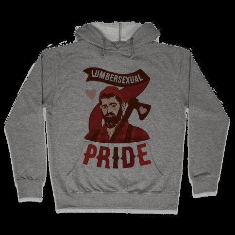 Lumbersexual Pride Hooded Sweatshirt