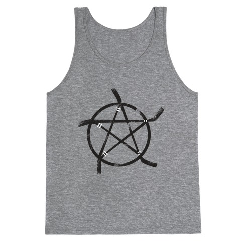 Hockey Stick Pentagram Tank Top