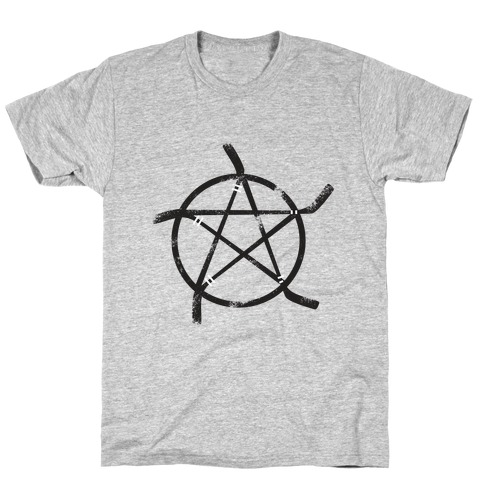 Hockey Stick Pentagram T-Shirt