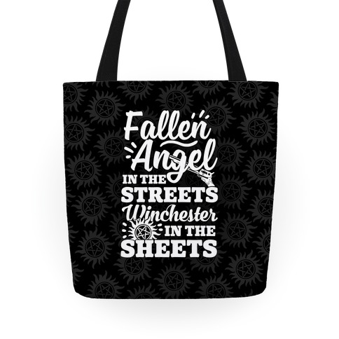 Fallen Angel In The Streets Winchester In The Streets Tote