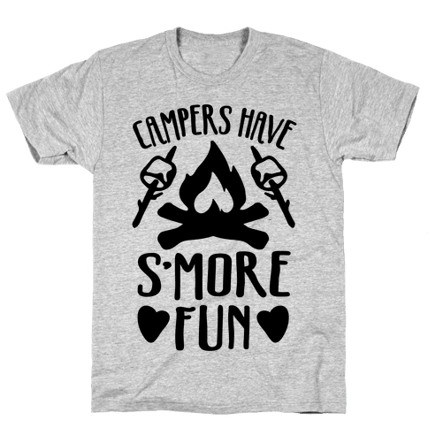 Campers Have S'more Fun Mens T-Shirt