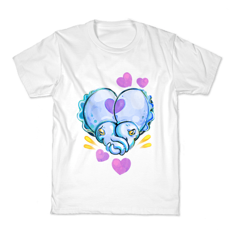 """Cuddle"" Fish (Cuttlefish) Kids T-Shirt"