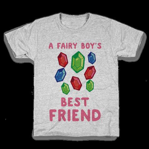 A Fairy Boy's Best Friend Kids T-Shirt