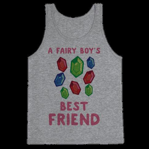 A Fairy Boy's Best Friend Tank Top
