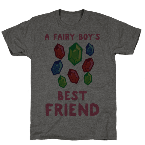 A Fairy Boy's Best Friend Mens T-Shirt