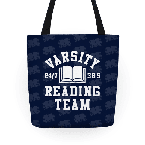 Varsity Reading Team Tote