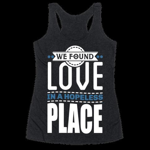 Found Love Racerback Tank Top