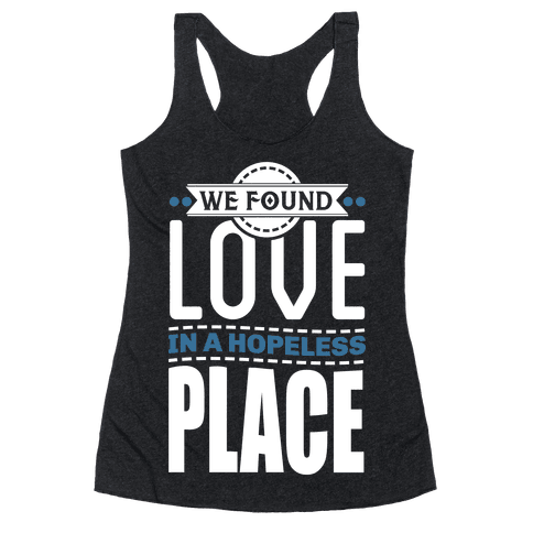 Found Love Racerback Tank Top