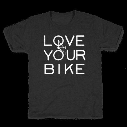 Love Your Bike Kids T-Shirt