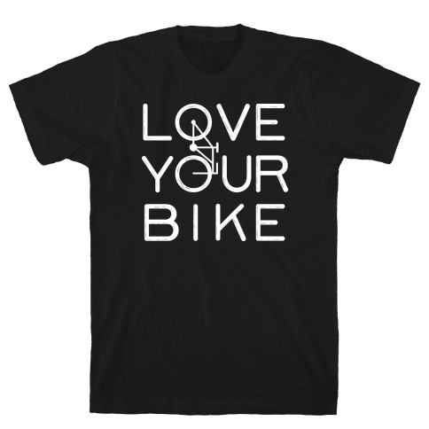 Love Your Bike Mens T-Shirt