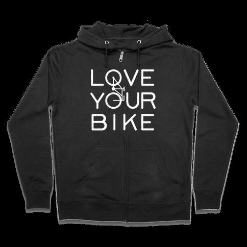 I Love Cycling Zip Hoodie iGjgygNDaa