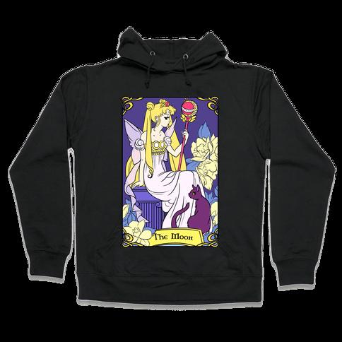 The Moon Tarot Hooded Sweatshirt