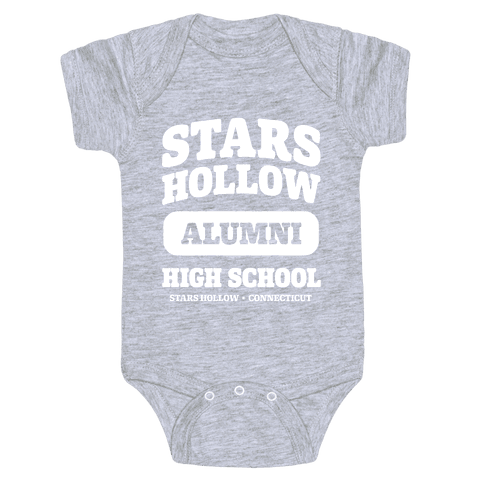 Stars Hollow High School Alumni Baby Onesy