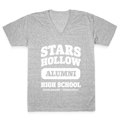 Stars Hollow High School Alumni V-Neck Tee Shirt