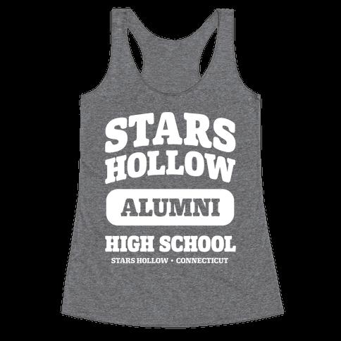 Stars Hollow High School Alumni Racerback Tank Top