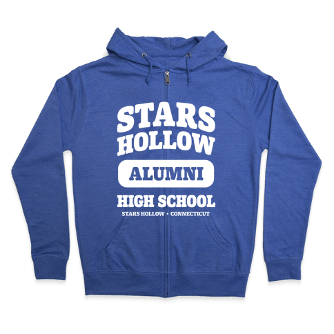 Stars Hollow High School Alumni Zip Hoodie