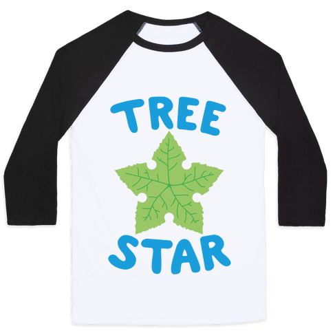 Tree Star Baseball Tee