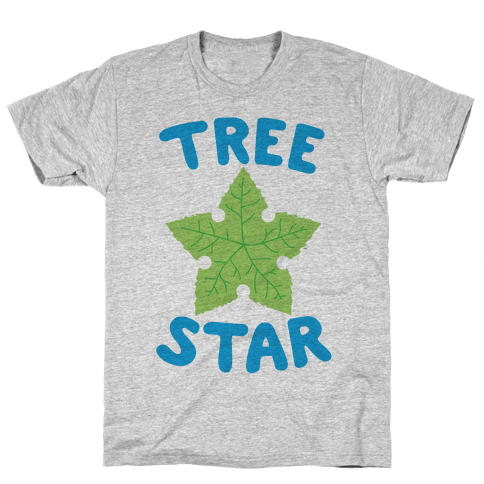 Tree Star Mens T-Shirt