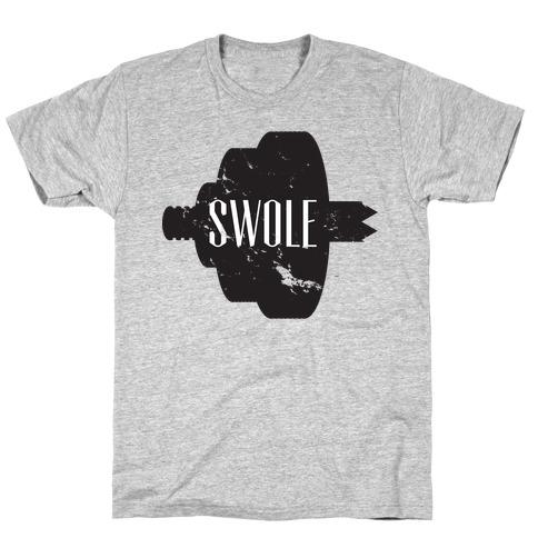 Swole Mates (Swole Half) T-Shirt