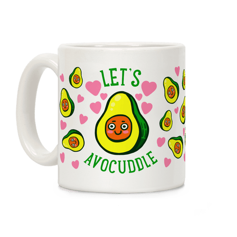 Lets Avocuddle Coffee Mug