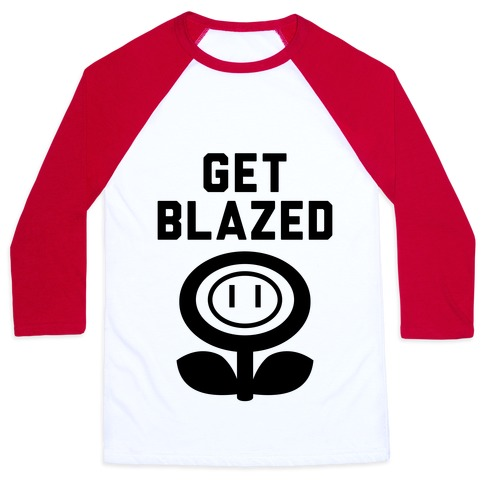 Get Blazed Baseball Tee
