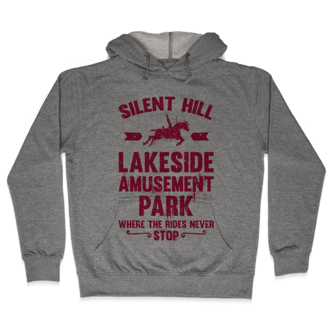 Silent Hill Lakeside Amusement Park Where The Rides Never Stop Hooded Sweatshirt