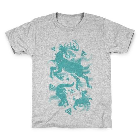 Harry Potter Patronus Pattern Kids T-Shirt