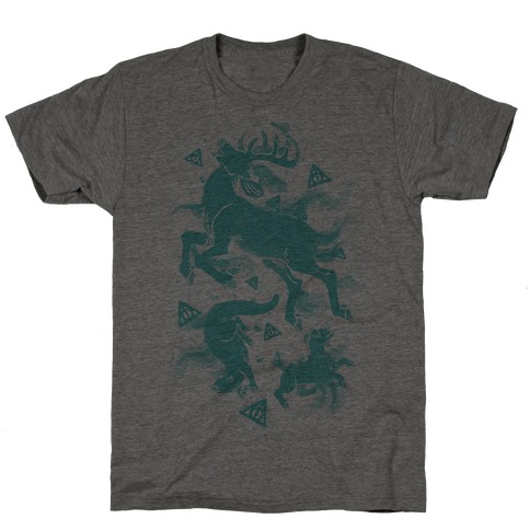 Harry Potter Patronus Pattern T-Shirt