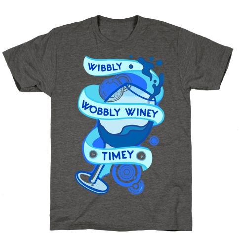 Wibbly Wobbly Winey Timey T-Shirt
