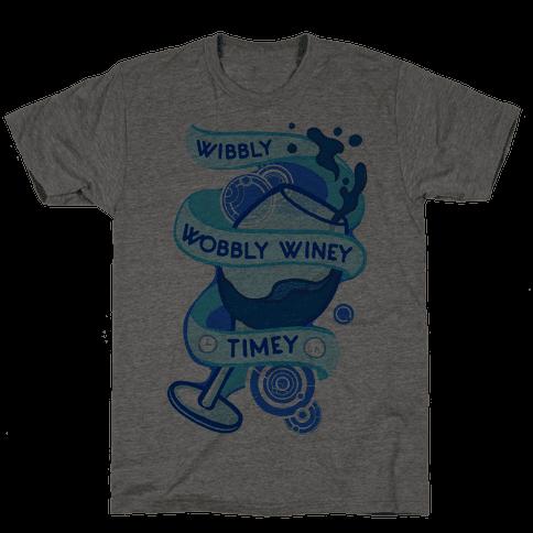 Wibbly Wobbly Winey Timey