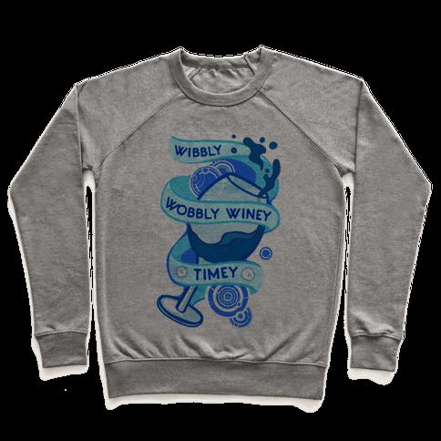 Wibbly Wobbly Winey Timey Pullover