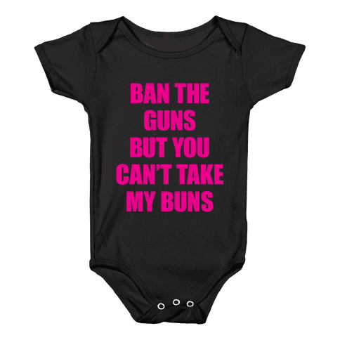 Save the Buns Baby Onesy