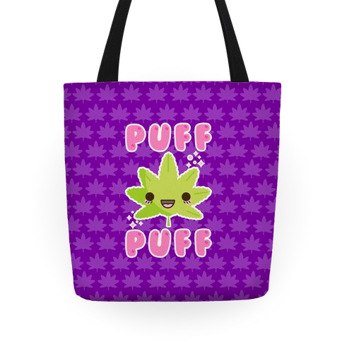 Puff Puff The Kawaii Pot Leaf Tote