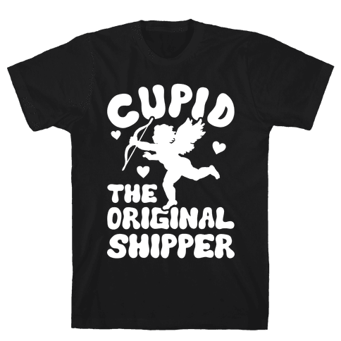 Cupid The Original Shipper Mens T-Shirt